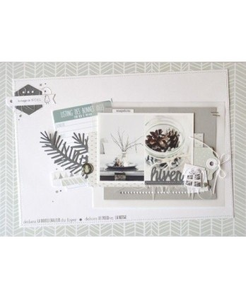 Clear stamp Scrapbooking Card Making winter - The magic of Christmas