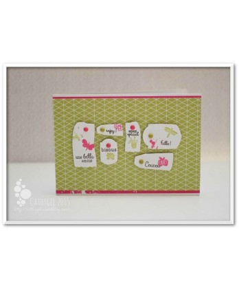 Clear stamp Scrapbooking Card Making gift - Pleasure to offer 2