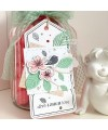 Cutting die Scrapbooking Card nature - Cherry leaves