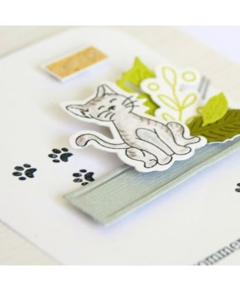 Cutting die Scrapbooking Card carton - Cats