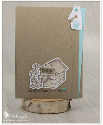 Matrice de coupe Scrapbooking Carterie forme - Traits de couture