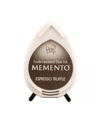 Ink Scrapbooking Card making - Memento Espresso Truffle