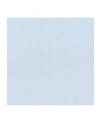 Papier Uni Scrapbooking Carterie -  Bazzill Powder Blue