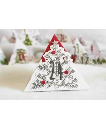 Clear Stamp Die Scrapbooking  Card Making Winter - My nice christmas tree
