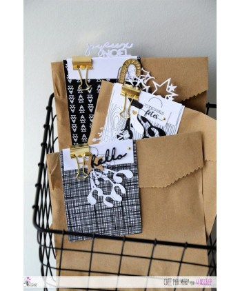 Cutting die Scrapbooking Card making deco table - Place tags