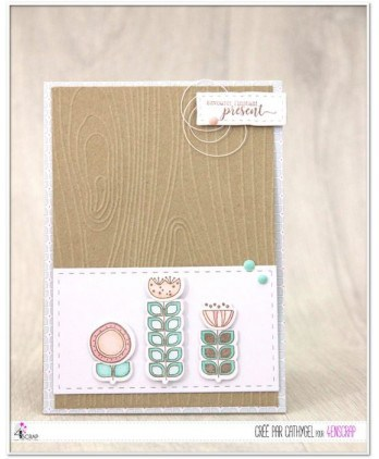 Embossing binder - Wood effect