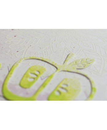Cutting die Scrapbooking Card making fruit - Slices of apples 2