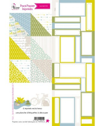 Summer 2015 Printed Papers Pack