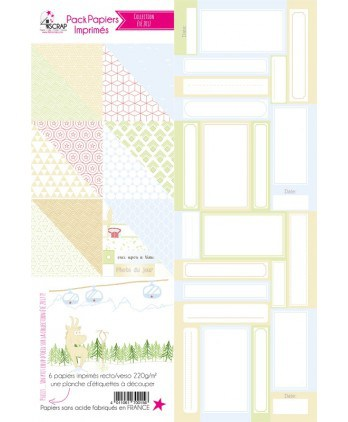Printed Papers Pack Summer 2017