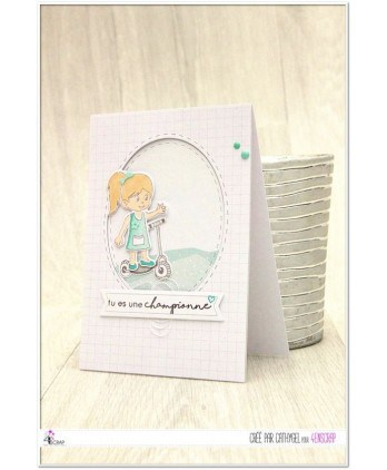 Embellishment Scrapbooking Card making sticker - Mint Dots