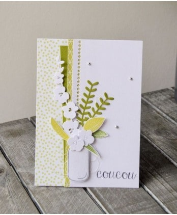 Clear stamp Scrapbooking Card Making family - Happy feast mum