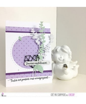 Clear stamp Scrapbooking Card Making text - From the bottom of heart