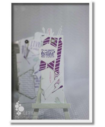 The tops of bookmark