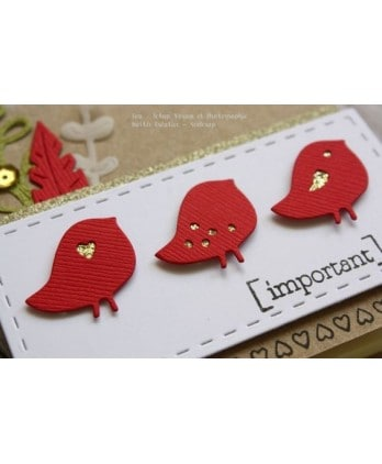 Cutting die Scrapbooking Card - Birdies