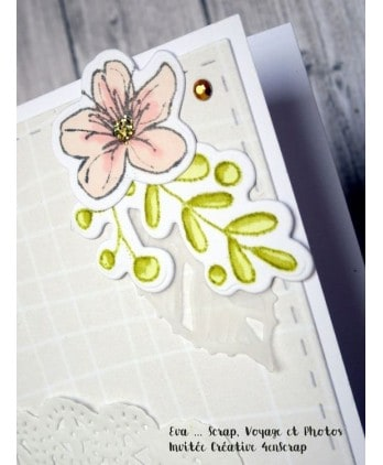 Cutting die Scrapbooking Card making nature - Cherries blossoms 2