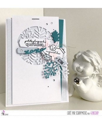 Clear stamp Scrapbooking Card Making planner bullet - Daily little pleasures