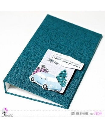 Cutting die Scrapbooking Card making christmas - Car & gifts