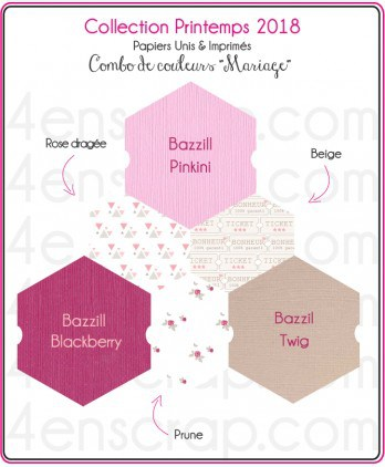Scrapbooking Carterie Cutting Label - Wedding