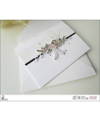 Cutting die Scrapbooking Card making wedding flower - Bouquets & Lantern
