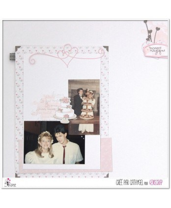 Cutting die Scrapbooking Card Making wedding sweet - Cake