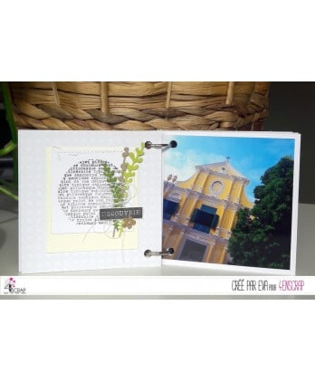 Clear Stamp Scrapbooking Card Making travel discovery - Here and there