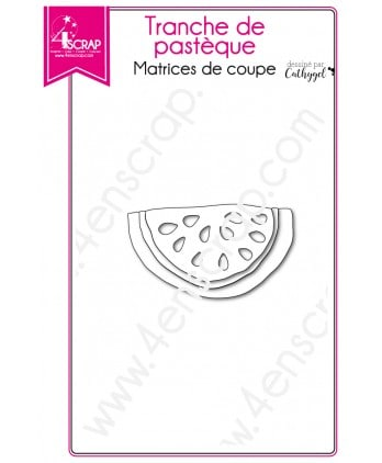 Cutting die Scrapbooking Card making fruit summer - Watermelon slice