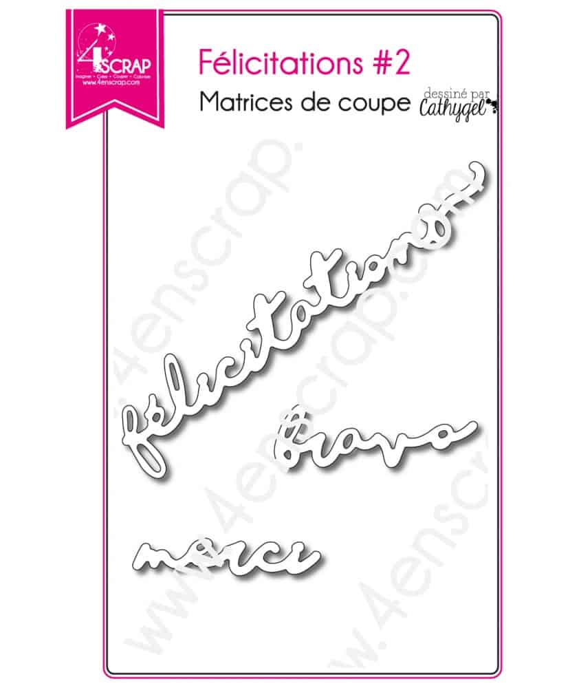 cutting die scrapbooking card making wedding word congratulations 2