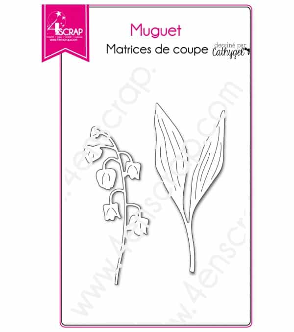 Cutting die Scrapbooking Card making spring flower - Lily of the Valley
