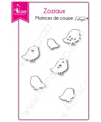 Cutting die Scrapbooking Card bird - Birdies