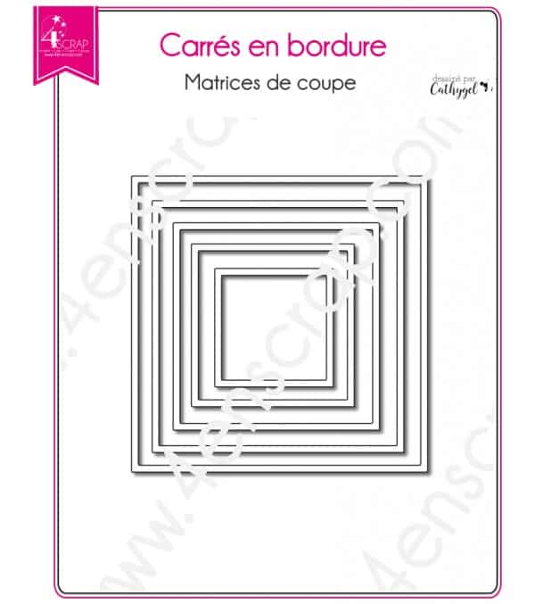 Squares with borders