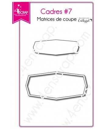 Cutting die Scrapbooking Card making label - Frames 7