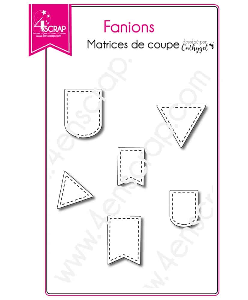 cutting die scrapbooking card making birthday banner pennants