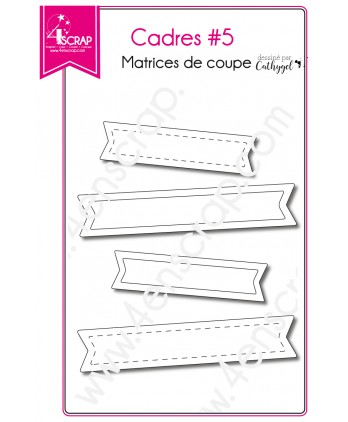 Cutting die Scrapbooking Card making label - Frames 5