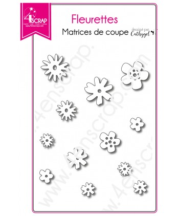 Cutting die Scrapbooking Card making garden - Small flowers