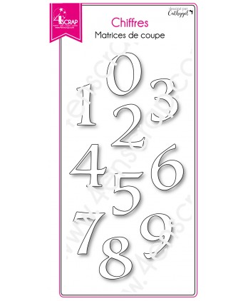 Cutting die Scrapbooking Card making birthday number - Figures