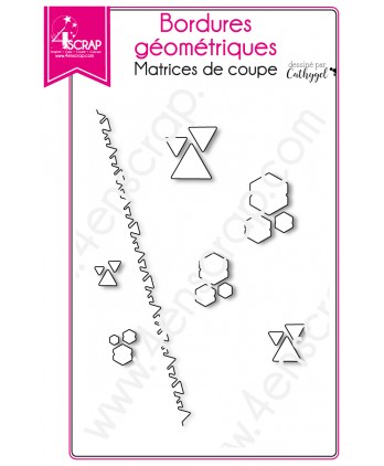 Cutting die Scrapbooking Card making graphic - Geometric borders