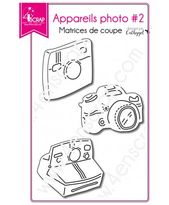 Matrice de coupe Scrapbooking Carterie pola reflex - Appareils photos 2