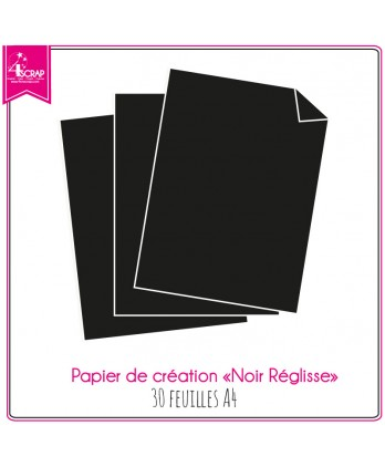Black Licorice Paper - 30 sheets