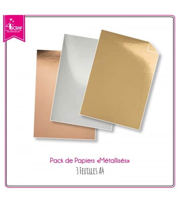 Metallic papers pack