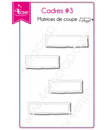 Cutting die Scrapbooking Card - Frames 3