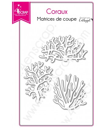 Cutting die Scrapbooking Card making ocean plant - Corals