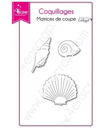 Cutting die Scrapbooking Card making sea animal - Shells