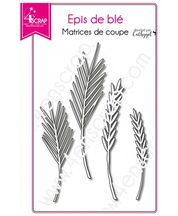 Cutting die Scrapbooking Card making leave - Ears of wheat