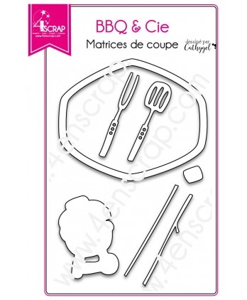 Cutting die Scrapbooking Card Making frame - BBQ & Co