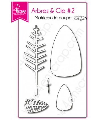 Matrice de coupe Scrapbooking Carterie arbre nature - Arbre & Cie 2