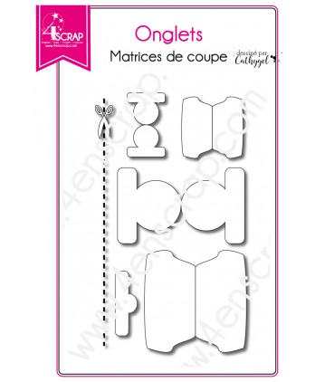 Cutting die Scrapbooking Card Making - Tabs