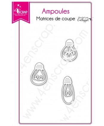 Cutting die Scrapbooking Card making deco light - Bulbs
