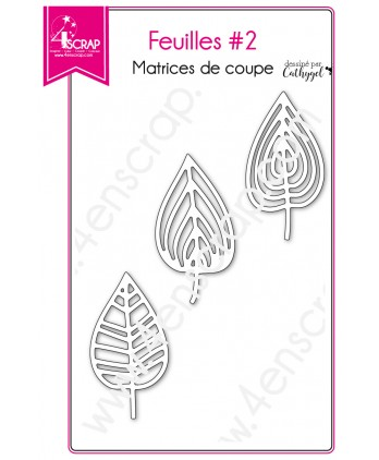 Cutting die Scrapbooking Card making fall tree nature - Leaves 2