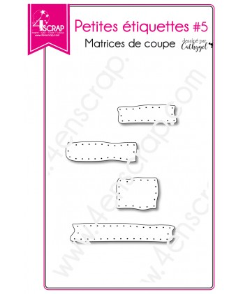 Cutting die Scrapbooking Card making frame rectangle - Small labels 5