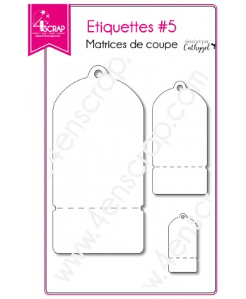 Cutting die Scrapbooking Card Making Frame Gift - Labels 5